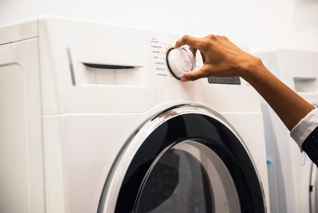 洗濯機は使える